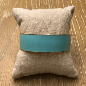 J. Crew turquoise enamel bangle
